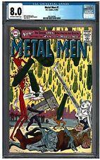 METAL MEN #1 CGC 8.0 (4-5//63) DC Comics off-white to white