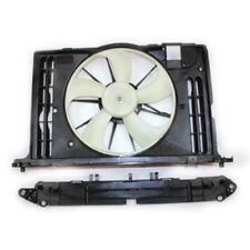 Dual Radiator and Condenser Fan Assembly TYC 622130 For Pontiac Toyota 1.8L L4