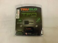 Truglo Tfo Tritium Fiber Optic Green Gun Sights Glock High Tg131Gt2
