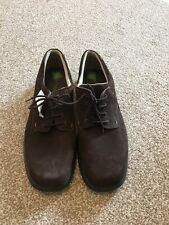 New With Tags Size 10 Mens Brown Suede Lace Up Shoes
