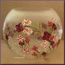 Sister Crackled Glass Candle Holder by Pavilion Gift Company Free U.S. Shipping