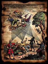 3 sizes MEDIEVAL DEMON MINSTRELS Art Print Poster gothic archaic Scott Jackson