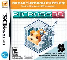 Picross 3D NDS New Nintendo DS