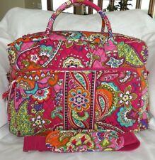 VERA BRADLEY WEEKENDER TOTE Large Travel Bag -  Pink Swirls -  New