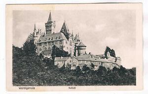 AK. Wernigerode Schloß 1912