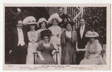 Miss Edna May's Wedding Party Vintage RPPC Postcard US097