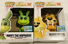 2019 SDCC Funko Pop Exclusive Flintstones Hoppy the Hopparoo Baby Puss! IN HAND