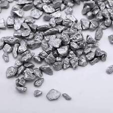 Silver 2 lbs Crushed Gravel Pebble Stones Decorative Vase Fillers Decorations