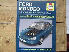 FORD MONDEO HAYNES SERVICE AND REPAIR MANUAL 1993 TO SEPT 2000 PETROL