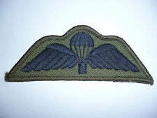 BRITISH ARMY SUBDUED PARACHUTE QUALIFICATION WINGS