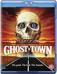GHOST TOWN (1988) blu-ray 88 films empire pictures horror BLU