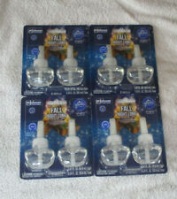 8 Glade Plug Ins Refills Fall Night Long 4 Packages of 2