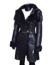 Button Shearling Full Length Coats & Jackets for Women