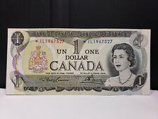 CANADA $1 1973 *IL PREFIX REPLACEMENT NOTE UNCIRCULATED *IL1967527 FREE SHIP