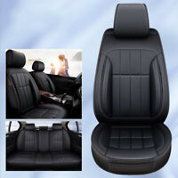 Black Leather Seat Cover Fit Toyota Corolla Camry RAV4 Yaris Prado Kluger Hilux