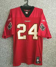 Tampa Bay Buccaneers Cadillac Williams #24 Reebok NFL Football Jersey Mens M