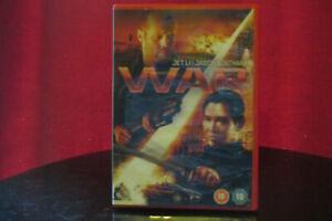 War DVD (2008) Jet Li, Atwell (DIR) cert 18 I