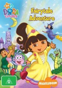Dora The Explorer - Dora's Fairytale Adventure DVD : NEW