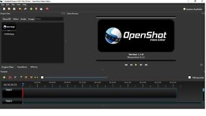 Professional Video Editing Software For Windows OpenShot Video Editor Ver. 2.5.1