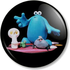 TRAP DOOR (2) 25mm Pin Button Badge Old School Skool Cartoon Retro Kids TV 1980s