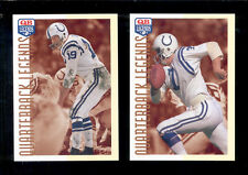 1993 QB Quarterback Legends Baltimore Colts Set JOHNNY UNITAS BERT JONES