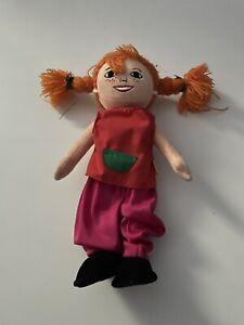 """16"""" PIPPI LONGSTOCKING cloth soft toy plush doll"""