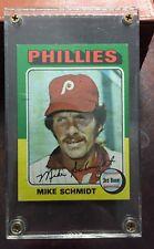 1975 Topps Baseball Mike Schmidt # 70 Hall Of Fame