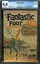Fantastic Four #13 CGC 4.0 OW - 1st of the Watcher - TOS 39 + Spider-Man #1 Ads