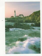 Portland Head Lighthouse Maine Postcard USA 406a ^