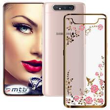 TPU Case Schutzhülle Bloomy für Samsung Galaxy A80 (A805, 6.7'') - gold
