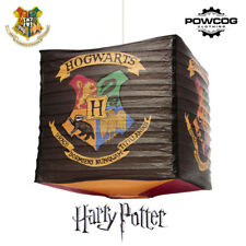 Harry Potter Official Hogwarts Crest Cube Light Shade Lamp Shade Lightshade
