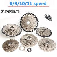 SUNSHINE 8/9/10/11 Speed MTB Bike Cassette 10S Flywheel Cogs Fit Shimano SRAM