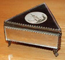 ancien coffret a bijoux russe souvenir mockba
