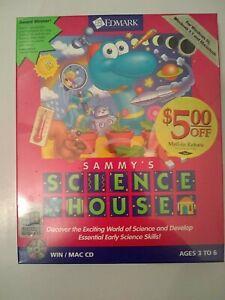 Sammy's Science House Edmark STEM Big Box PC Win Mac 1995