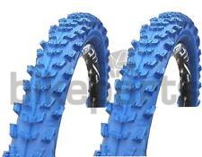 2 piezas Neumático de la bicicleta Kenda MTB goma 26x1 95 (50-559) azul