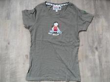 ADELHEID schönes Shirt Auf Wolke 7 oliv Gr. S TOP RC518