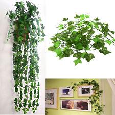 8ft Artificial Ivy Leaf Garland Plants Vine Fake Hanging House Wedding Decor