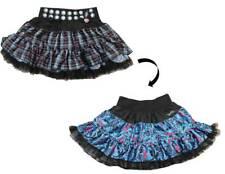 GIRLS MONSTER HIGH REVERSIBLE PETTI SKIRT FRANKIE COSTUME DRESS S/M XS13545