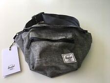 New Herschel Supply Fanny Pack Sport Gym Travel Shoulder Bag Designer Large Gray