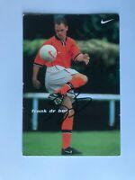 Autogramm FRANK DE BOER-Nationalteam HOLLAND-Ex-Ajax/FC Barcelona/Rayyan-AK