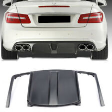 FRP Rear Bumper Diffuser Fit for Mercedes Benz W207 E550 AMG Sport Package 09-12