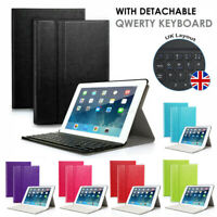 for iPad 9.7'' 2018 2017/Air/Air 2 iPad 2 3 4 QWERTY UK Keyboard with Stand Case