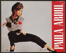 Music Pop Rock Paula Abdul Vintage Poster Print 16 x 20 Brand New Sealed!