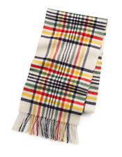 Hudson's Bay Company HBC Tartan Multi Stripe Wool Scarf