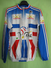 Maillot Cycliste Equipe France Noret Cofidis FFC vintage Cycles jersey - 3 / M