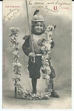 CPA- Carte postale -Bergeret - Les voyelles - U