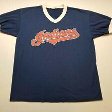 Vtg 1995 MLB Cleveland Indians Jersey Mens Shirt L Modomania Baseball 90s T31