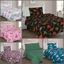 Premium Hotel Collection Bedding Sheet Set Modern New Design for Girls & Boys