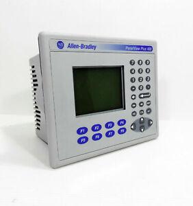 1x Allen Bradley Panelview Plus 400 2711P-K4M20D Ser.B Rev.B HMI Operator panel