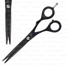 "6"" BLACK BARBER SALON HAIR CUTTING STYLING DRESSING TRIMMING SHEARS PET SCISSORS"